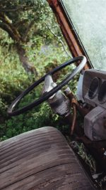 Old Car Forest Vintage Nature Carl Kadysz