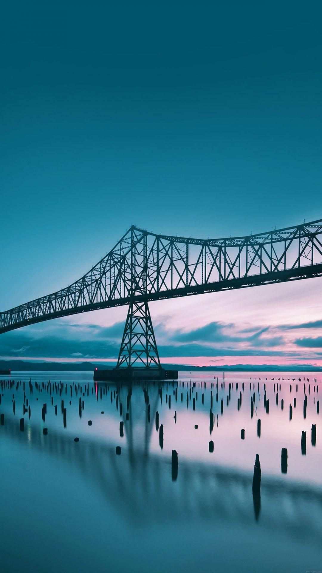 Oregon Bridge Sea Nature