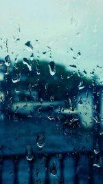 Rain Bokeh Window Drops Nature