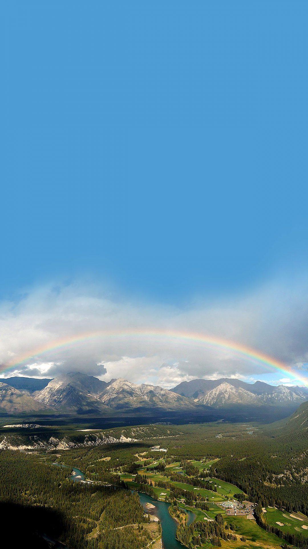 Rainbow Town Mountain Nature