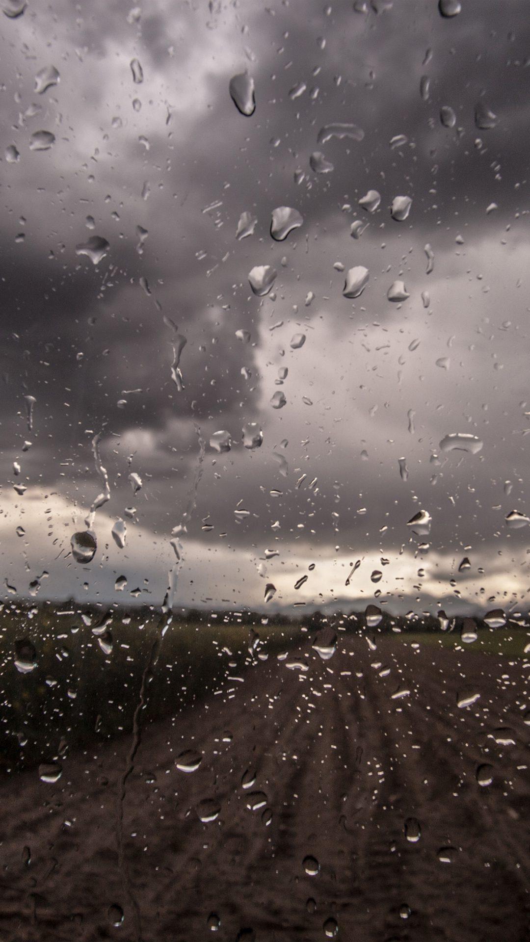 Rainy Window Nature Water Drop Road