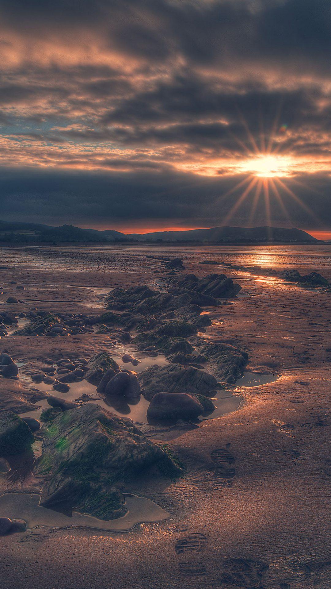 Redbeach Sea Nature
