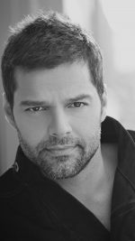 Ricky Martin Music Artist Singer Celebrity Dark Bw