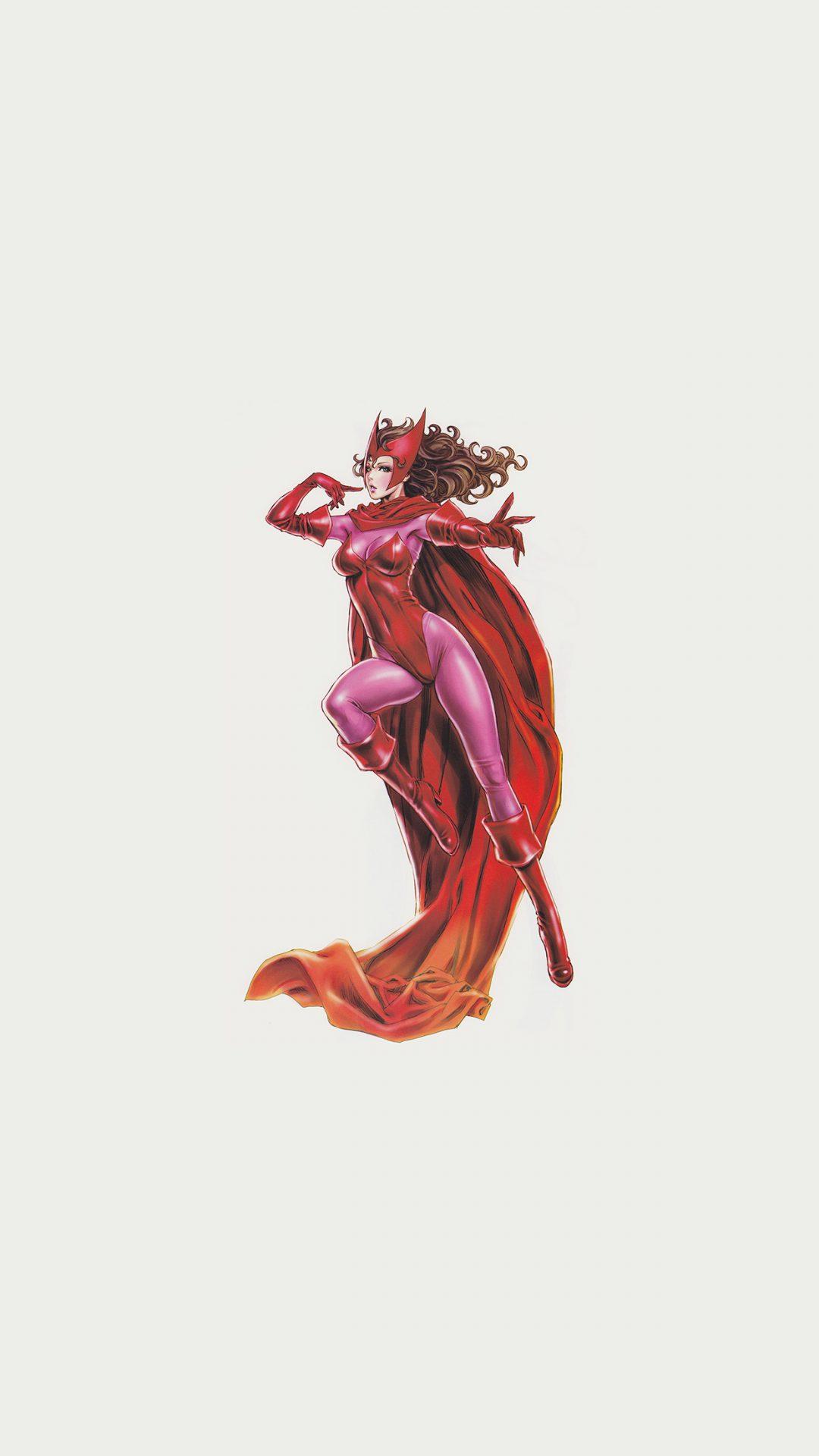 Scarlet Witch Avengers Comics Illust Art Film
