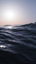 Sea Dive Wave Dark Summer Ocean Nature