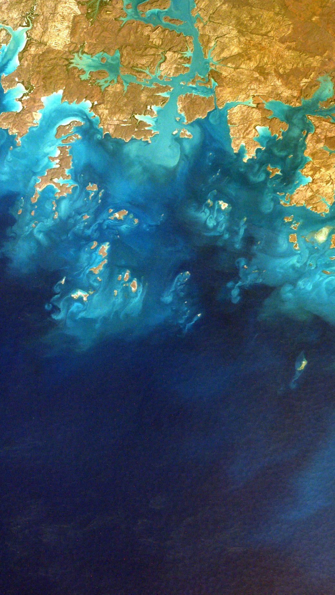 Sea From Sky Earthview Art Nature