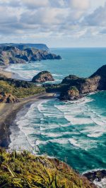 Sea Ocean View Water New Zealand Nature