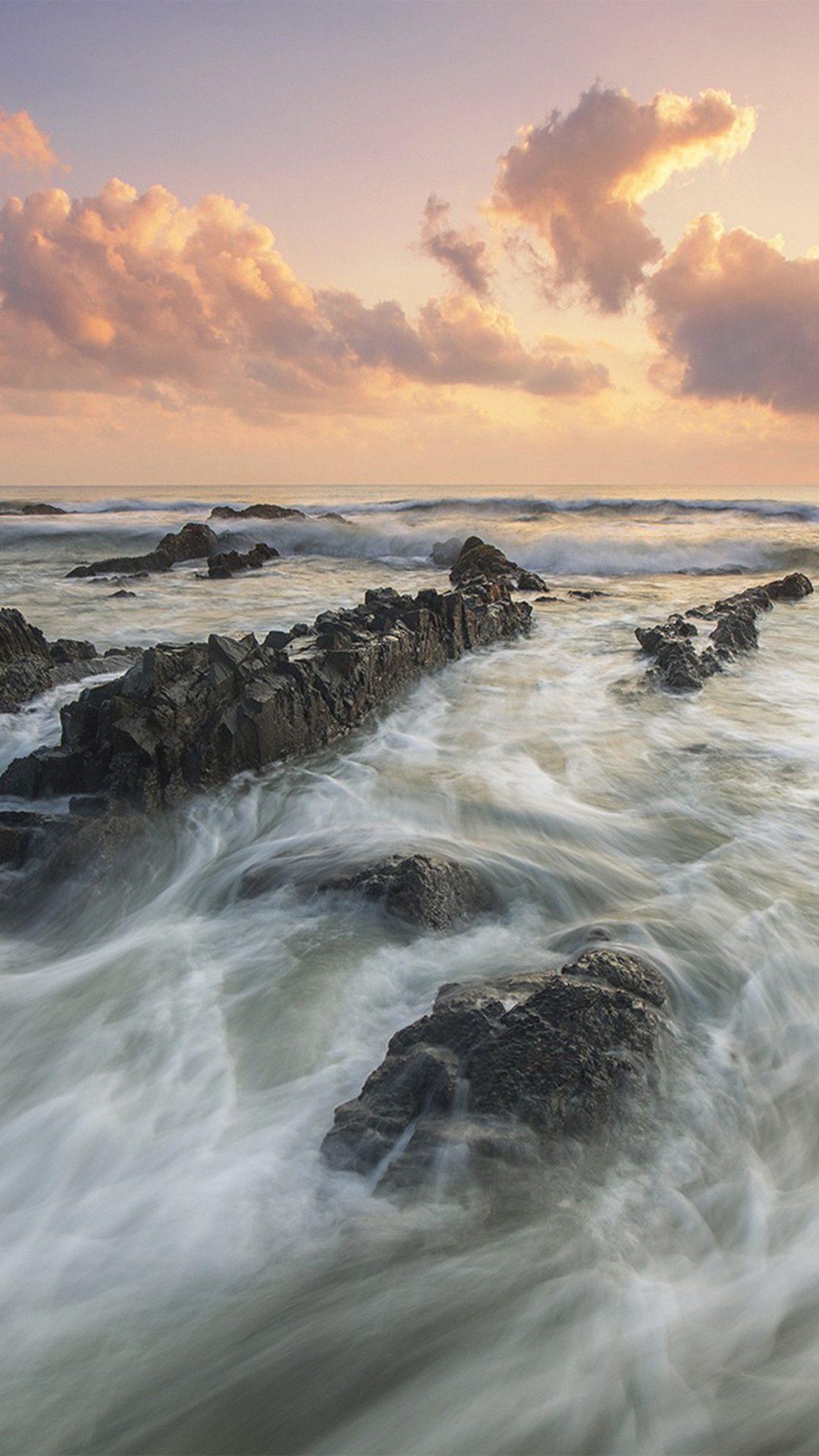 Sea Ocean Water Sunset Nature