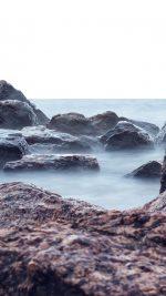 Sea Rock Nature Wave