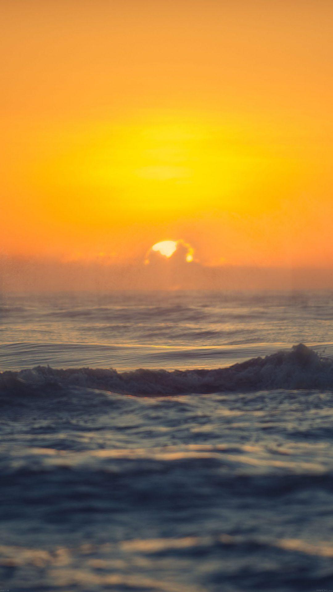 Sea Spray Sunset Ocean Water Nature
