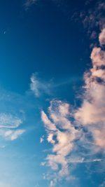 Sky Blue Cloud Sunny Clear Nature