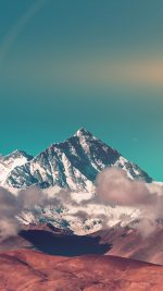 Snow Solo Mountain High Nature Green