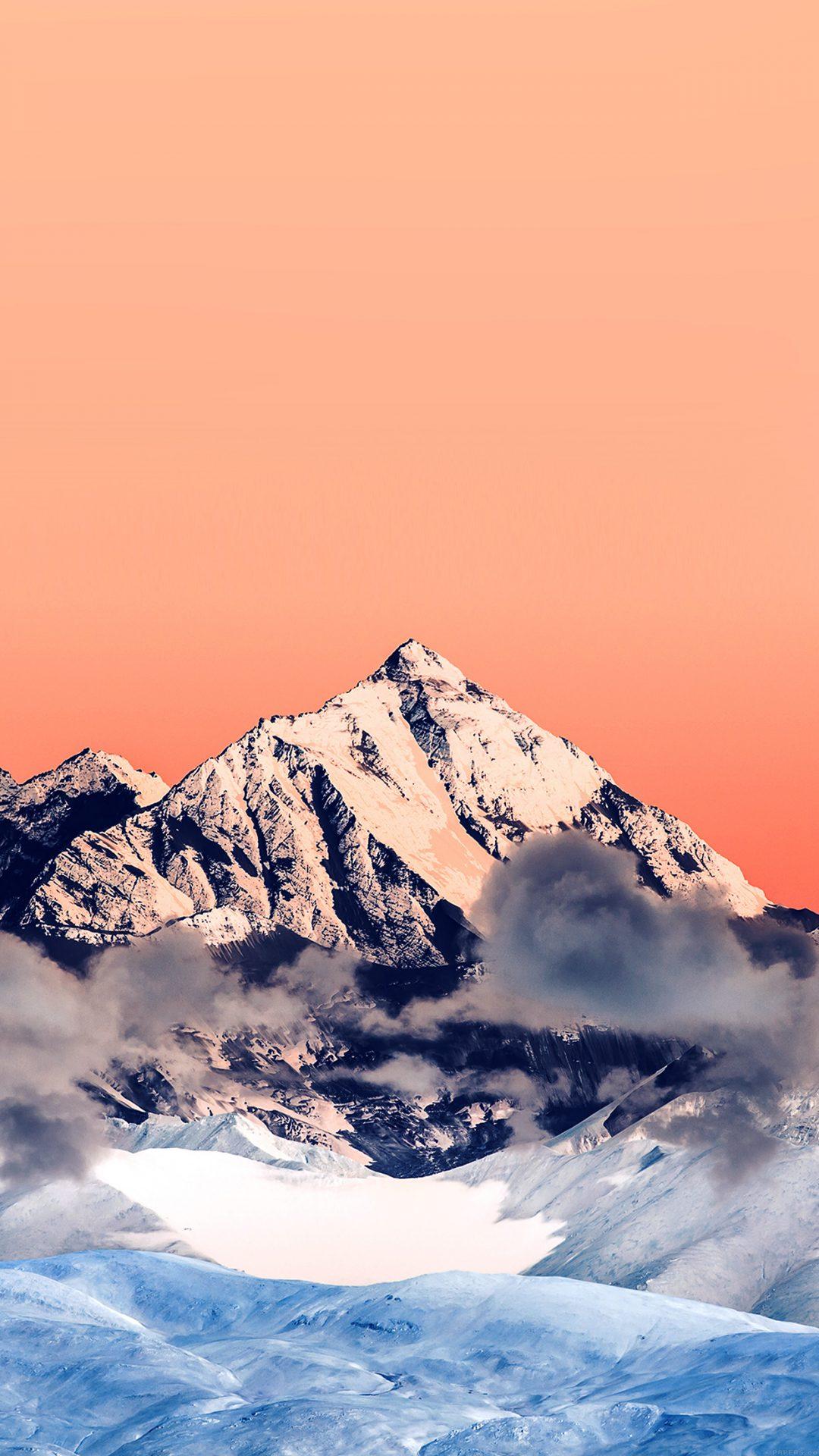 Snow Solo Orange Mountain High Nature
