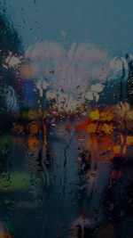 Somedays Rain Window Wet Nature Dark