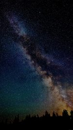 Star Gazing Night Color Nature Sky
