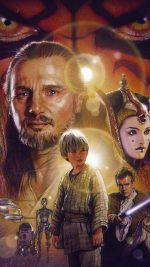 Starwars Episode 1 Art Illust Poster Film