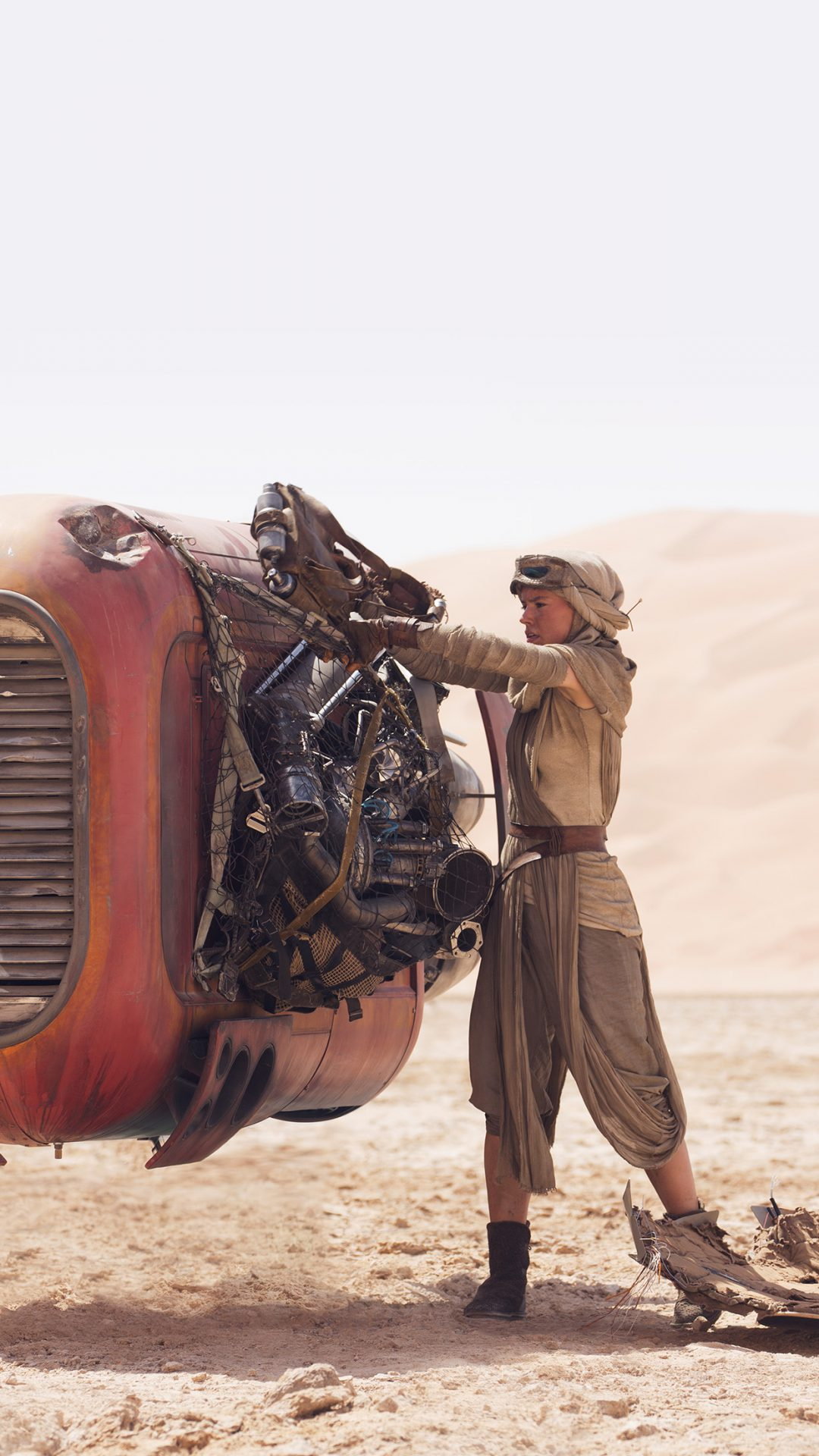 Star Wars: The Force Awakens..Rey (Daisy Ridley)..Ph: David James..? 2015 Lucasfilm Ltd. & TM. All Right Reserved.