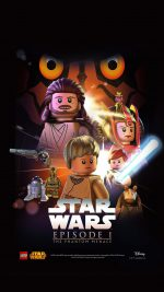 Starwars Lego Episode 1 Phantom Manace Film Art
