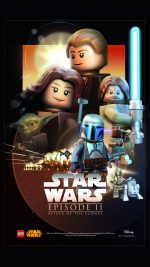 Starwars Lego Episode 2 Attack Of Clones Art Film