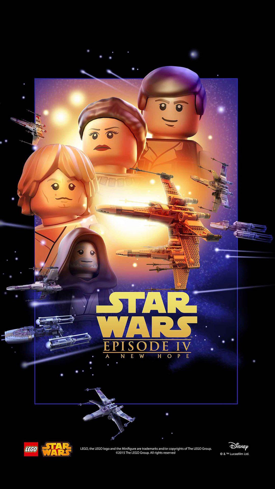 Starwars Lego Episode 4 New Hope Art Film