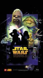 Starwars Lego Episode 6 Return Of Jedi Art Film