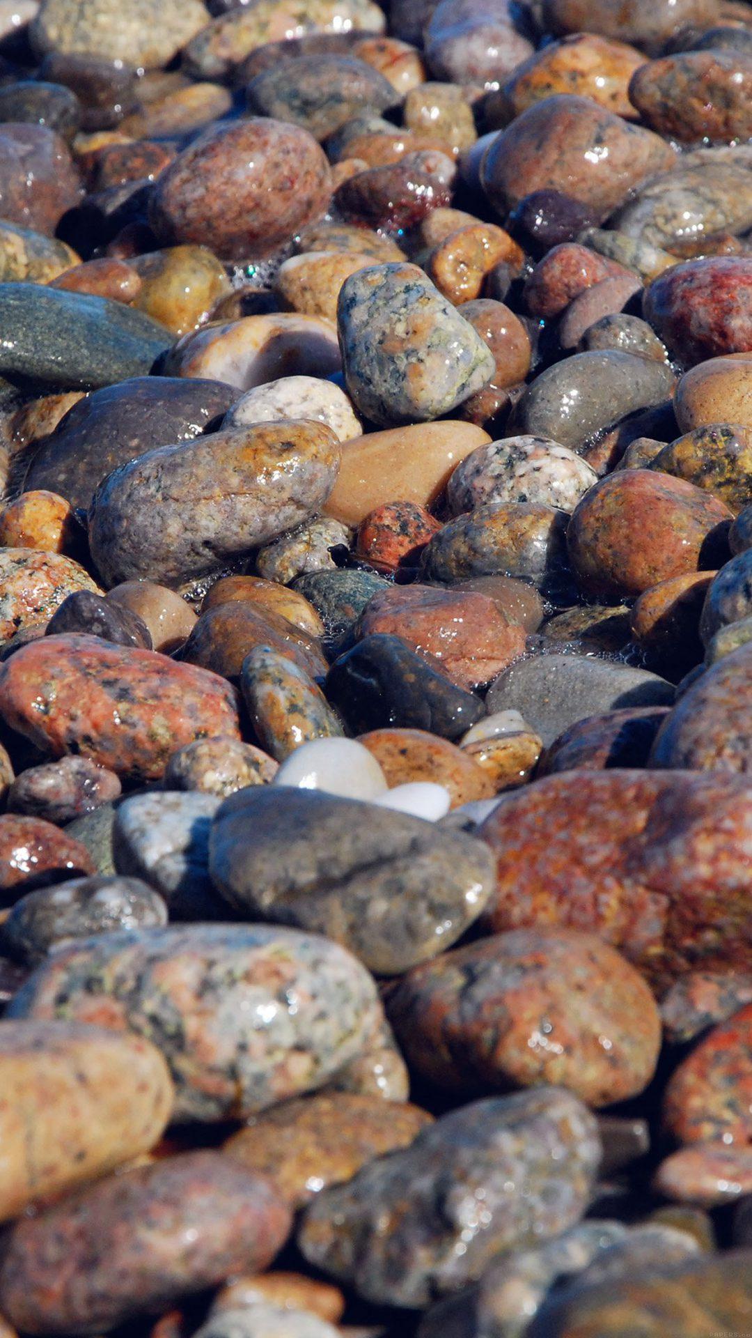 Stone Rocks Beach Nature Pattern