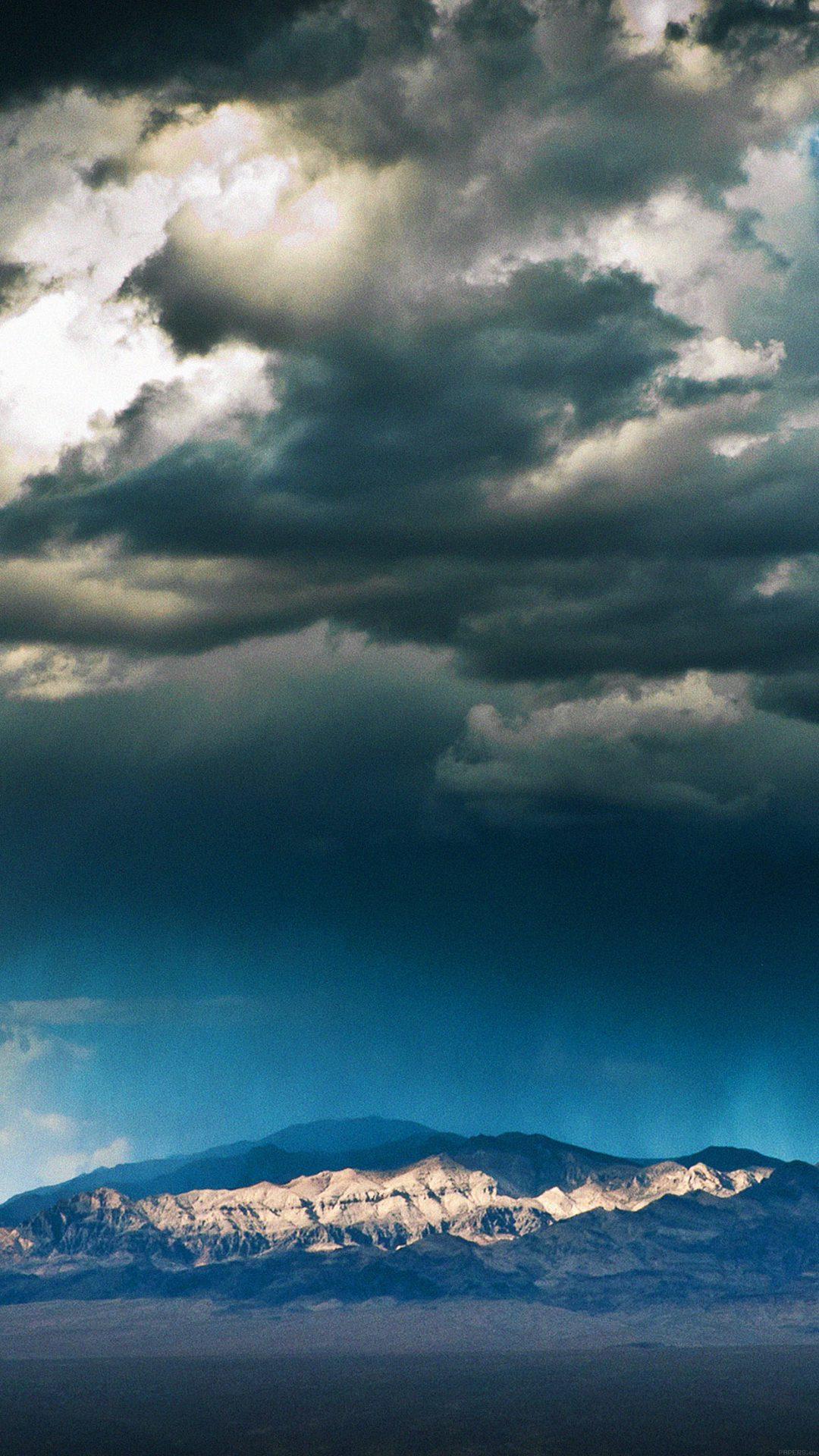 Storm Mountain Sky Nature