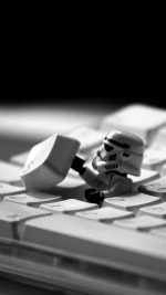 Storm Trooper Starwars Keyboard Film