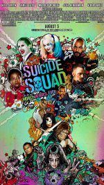 Suicide Squad Film Poster Art Illustration
