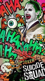 Suicide Squad Film Poster Art Illustration Joker