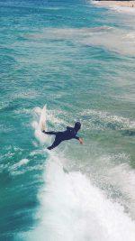 Summer Ocean Beach Surf Girl Nature Blue