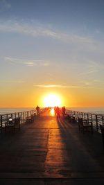 Sunny Sunset Morning Nature Sea