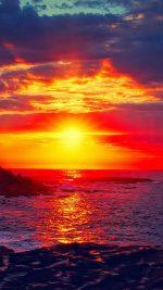 Sunset Beach Nature Afternoon Love