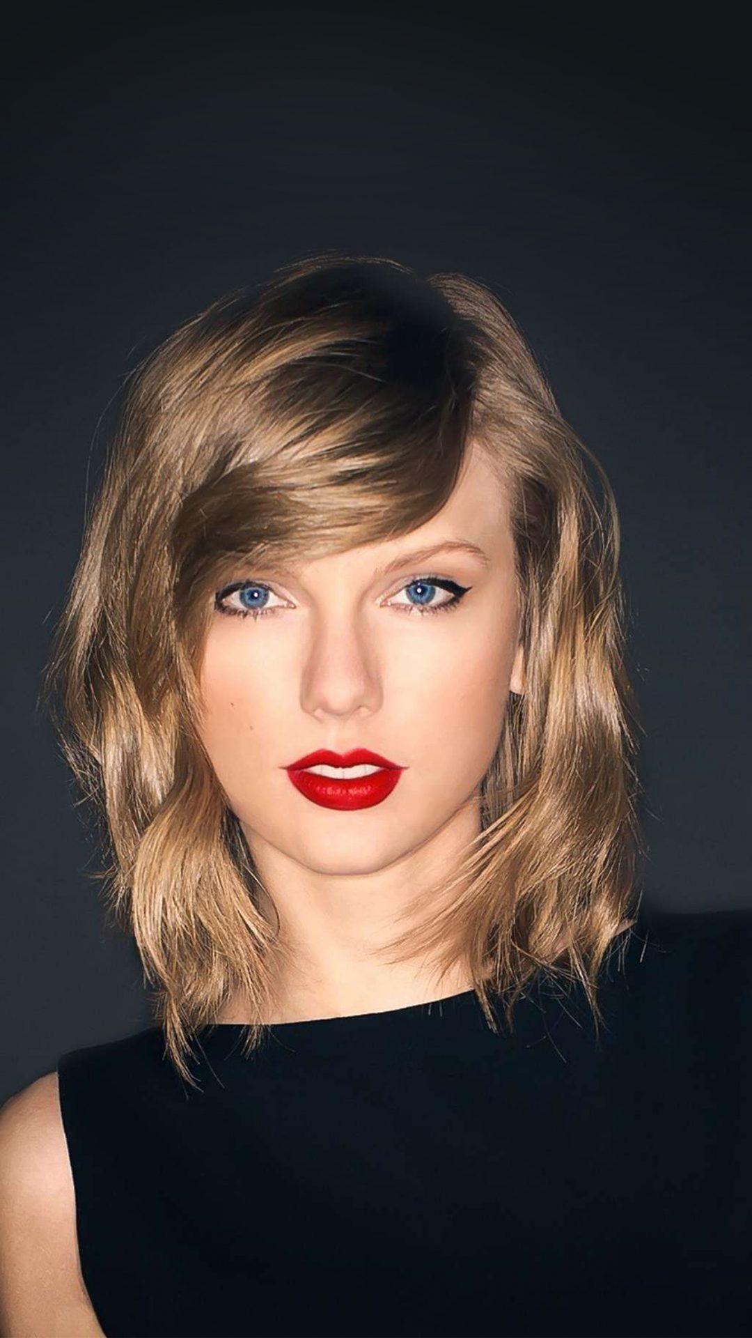 Taylor Swift Dark Lips Music Celebrity
