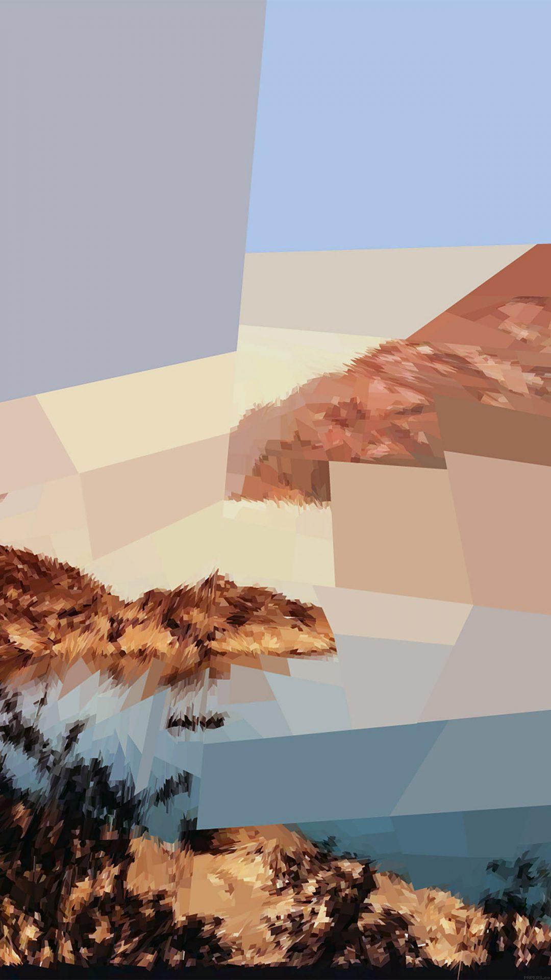 Wallpaper Adaptive Field Nature Pattern