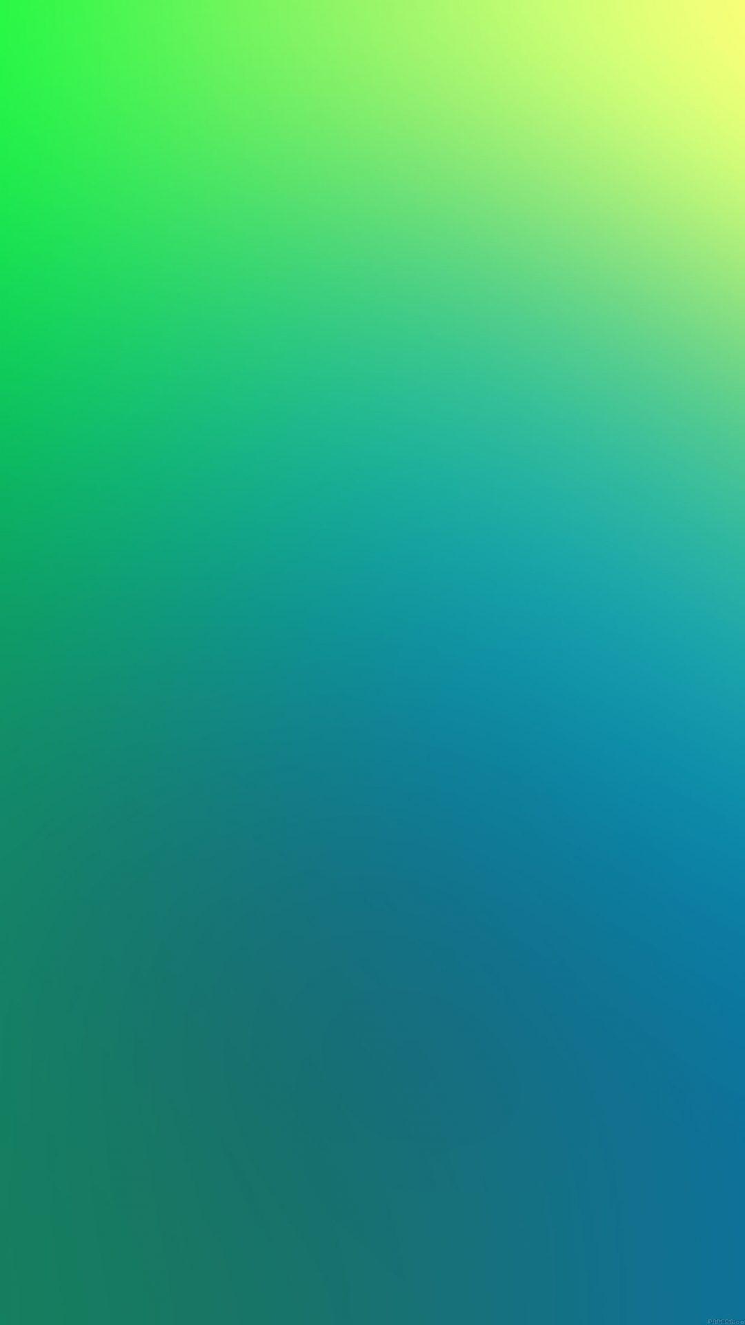 Green Apple Blue Yellow Blur