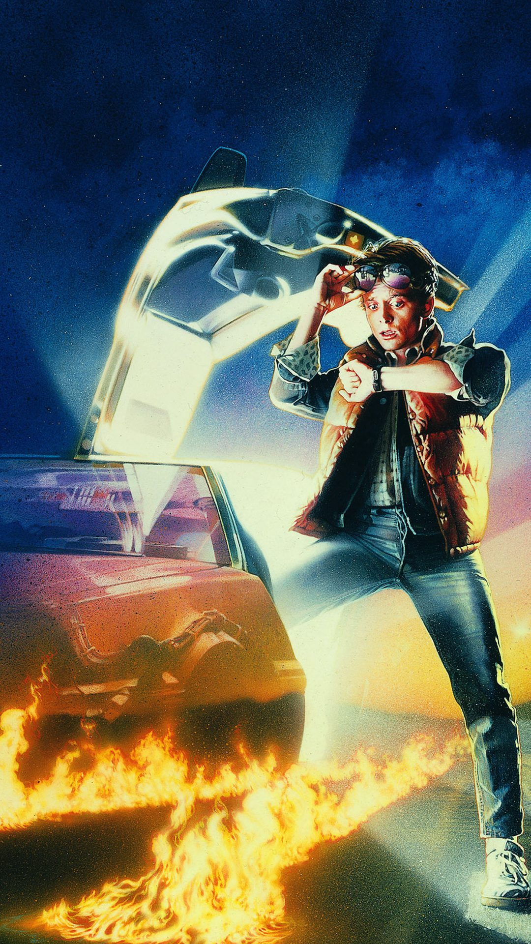 Wallpaper Back To The Future Time Film Poster