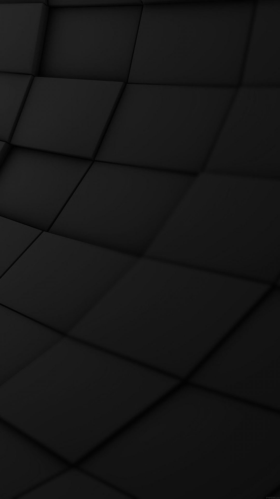 Wallpaper Brick 3ds Black Pattern