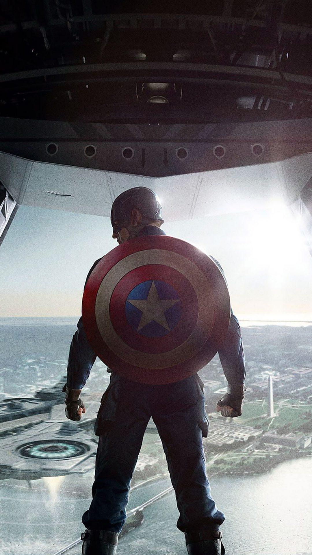Wallpaper Captain America Soldier Face Film Hero