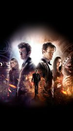 Wallpaper Doctor Who 50th Poster Film Face