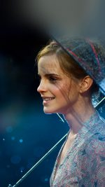 Wallpaper Emma Watson In Rain Girl Film Face