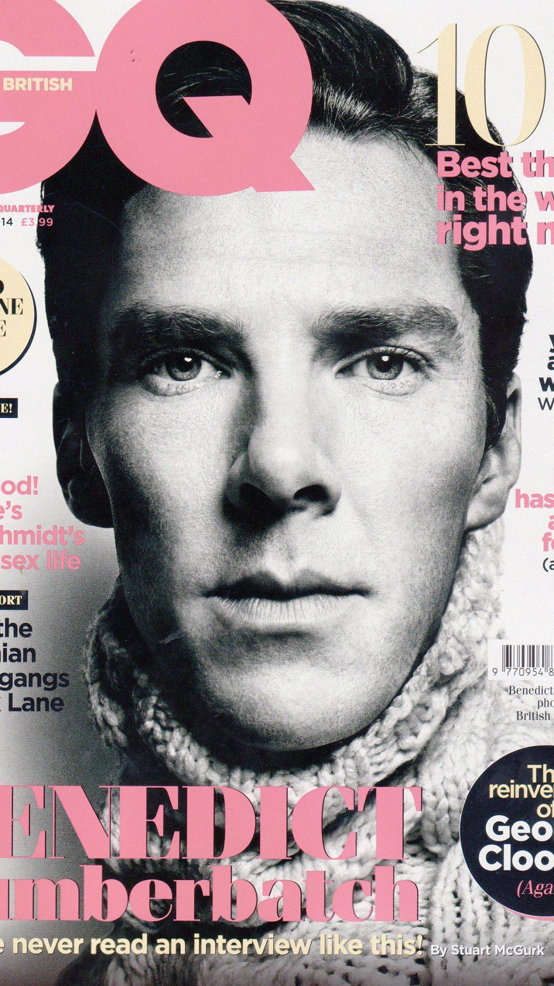Wallpaper Gq Benedict Cumberbatch Face Film