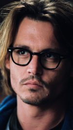 Wallpaper Johnny Depp Glass Film Actor Face