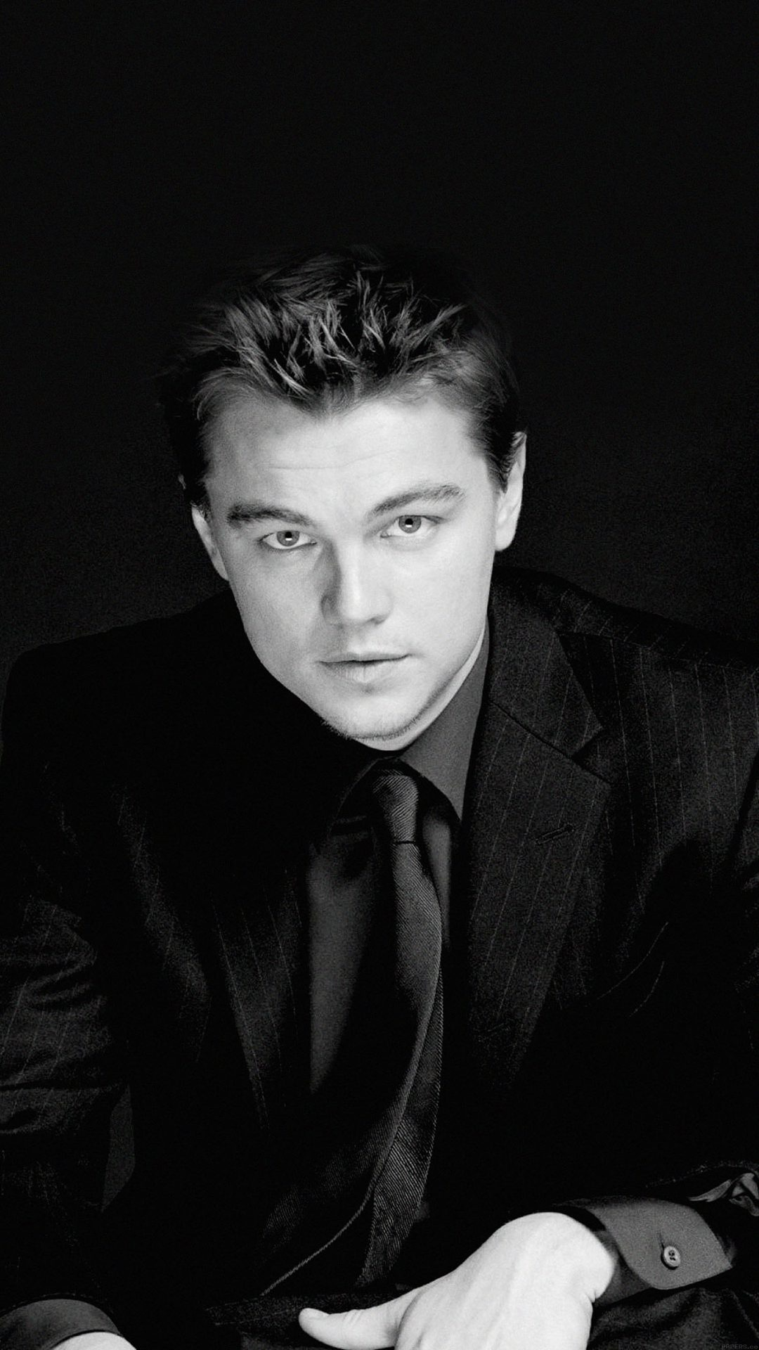 Wallpaper Leonardo Dicaprio Face Film
