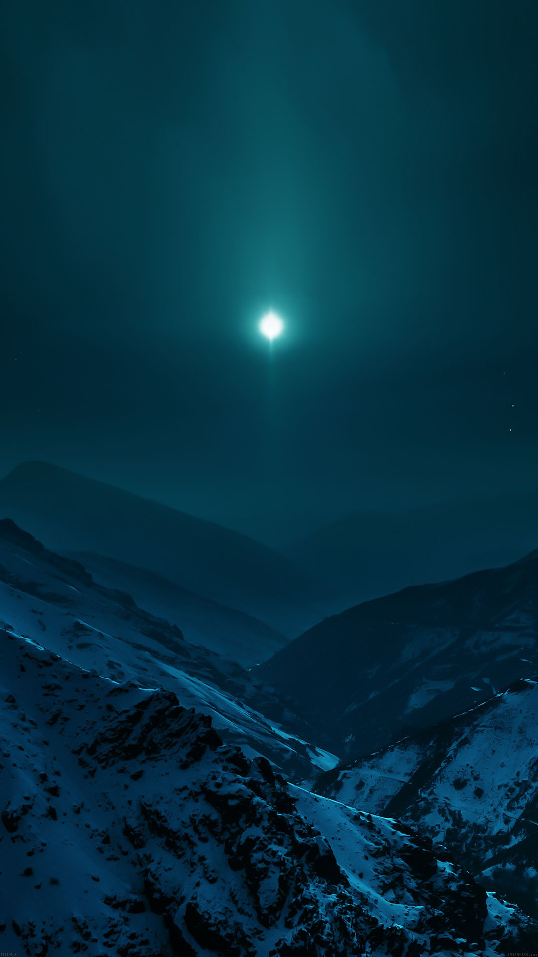 Wallpaper Nature Earth Asleep Mountain Night Wallpapers For Iphone