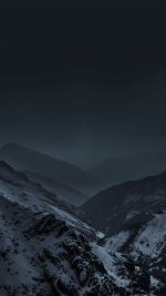 Wallpaper Nature Earth Dark Asleep Mountain Night