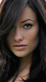 Wallpaper Olivia Wilde Stare Face Girl Film
