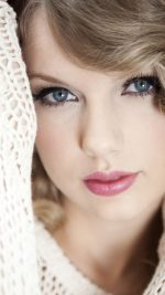 Wallpaper Taylor Swift Firl Face Music
