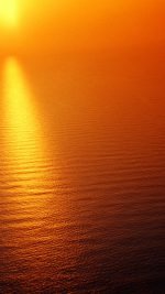 Water Ocean Red Sunset Nature Texture Pattern