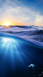 Water Rise Sea Nature